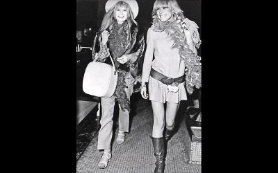 Anita Pallenberg, Legendary It Girl and Former Partner of Keith Richards