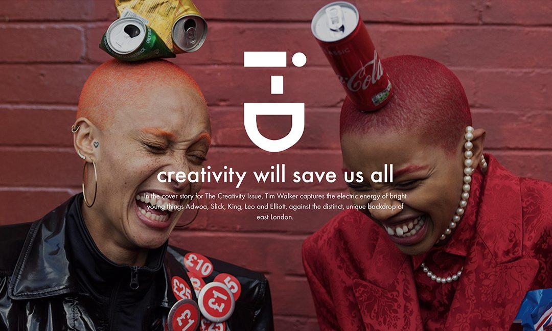 Creativity Will Save Us All