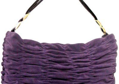 Wrinkled Purple Long Bag 2